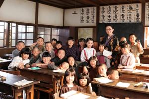なつぞら,初原小学校校,ロケ,茨城県大子町